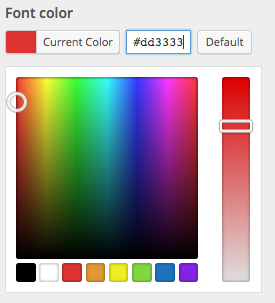 Circular Color Selector